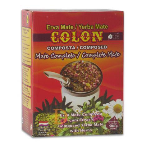 Colon Compuesta - Mate Completo - Mate Tee aus Paraguay 500g