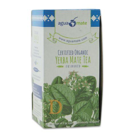 Bio Mate Tee - Aguamate - 25 Teebeutel (ungeräuchert)- Mate Tee aus Argentinien (Probierangebot)