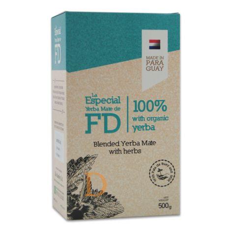 Fede Rico - La Especial - mit Minze und Brasilianischem Orchideenbaum - Mate Tee aus Paraguay 500g