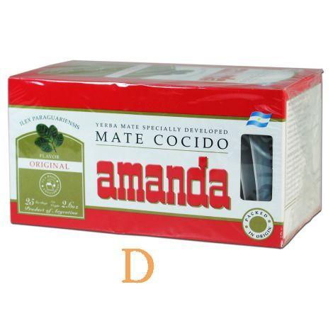 Amanda - Teebeutel - 25 - Mate Tee aus Argentinien